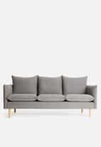 Sixth Floor - Hector 3-seater sofa - grey