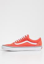Vans - Ua old skool - emberglow / true white