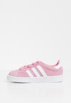 adidas Originals - Campus - pink & white