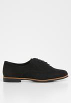 New Look - Lace up brogues - black