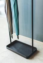 Yamazaki - Tower hanging umbrella stand - black
