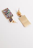 STYLE REPUBLIC - Kira sequin earrings-multi