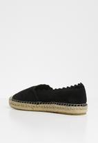 Steve Madden - Slip-on espadril - black