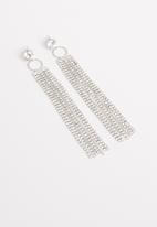 STYLE REPUBLIC - Mara statement earrings-silver