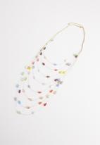 STYLE REPUBLIC - Steph beaded necklace-multi