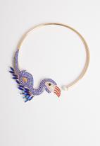 STYLE REPUBLIC - Toucan bird choker-multi