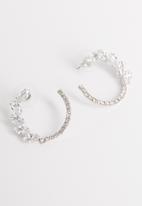 STYLE REPUBLIC - Selma hoop earrings-silver
