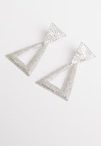 STYLE REPUBLIC - Lacie statement earrings - silver
