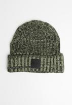 Cotton On - Take a hike beanie - khaki & black