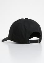 Converse - Lock up baseball cap - black & white
