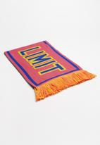 Superbalist - Worded scarf with tassels - multi
