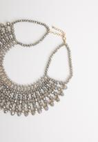 STYLE REPUBLIC - Statement necklace - silver