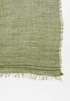 Jack & Jones - Bonn woven scarf - green