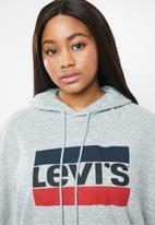 Levi's® - Graphic logo hoodie - grey