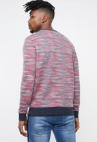 Brave Soul - Galton crew neck sweater - multi