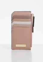 Call It Spring - Faux leather wallet - pink