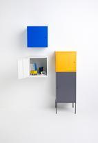Sixth Floor - Fritz wall storage cube - white