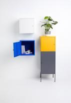 Sixth Floor - Fritz wall storage cube - navy