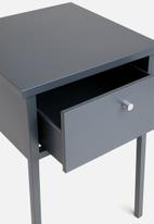 Sixth Floor - Fritz bedside table - grey