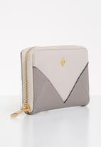 Call It Spring - Obedska wallet - grey & neutral