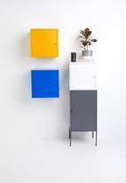 Sixth Floor - Fritz wall storage cube - yellow