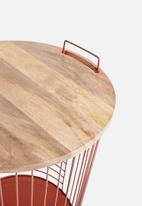Sixth Floor - Ellie storage table - rose