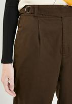 Superbalist - Utility mom trouser - brown