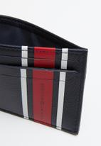 Tommy Hilfiger - Stripes unisex street style card holder - multi