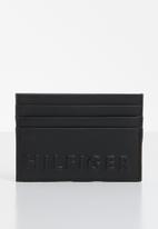 Tommy Hilfiger - Hilfiger pop cc holder - black & yellow
