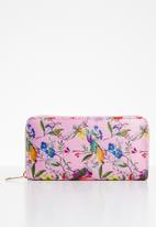 STYLE REPUBLIC - Birds of paradise purse - multi
