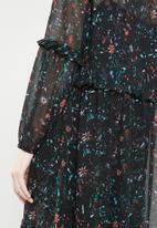 ONLY - Ziva Caroline dress - black