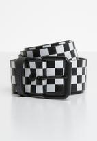 Vans - Hunter II belt - black & white