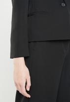 Vero Moda - Misa short blazer - black