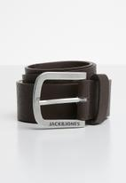 Jack & Jones - Harry belt - brown