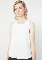 Jacqueline de Yong - Abigail sleeveless top - cream