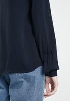 Jacqueline de Yong - Anni shirt - navy