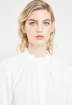 Jacqueline de Yong - Anni shirt - cream