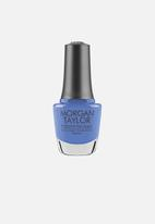 Morgan Taylor - Forever Fabulous nail lacquer ltd edition - blue-eyed beauty