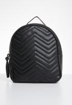 POP CANDY - Quilted backpack - black
