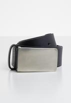 Superbalist - Jackson belt with coated buckle - navy