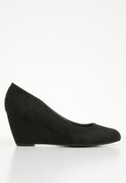 Call It Spring - Classic wedge heel - black