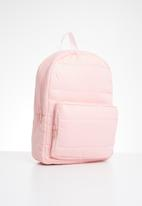 Cotton On - Puffer backpack - pink