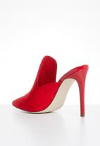 Call It Spring - Stiletto mule - red