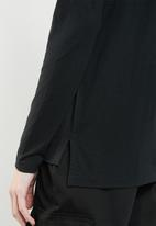 Vero Moda - Malle embellished jersey top - black