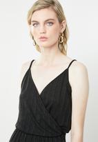 Vero Moda - Wiona cami strap jumpsuit - black