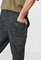 Cotton On - Brunswick slim fit track jogger - charcoal
