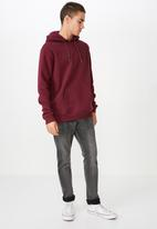 Cotton On - Fleece pullover - burgundy