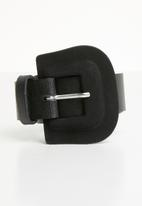 Vero Moda - Susannah slim jeans belt - black