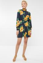 Forever21 - Long sleeve floral dress - multi