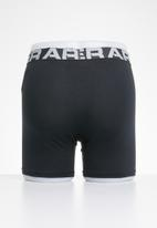 Under Armour - Charged cotton 6in 3 pack boxer briefs - black
